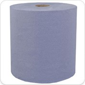 1Ply Blue Pod Roll Towel